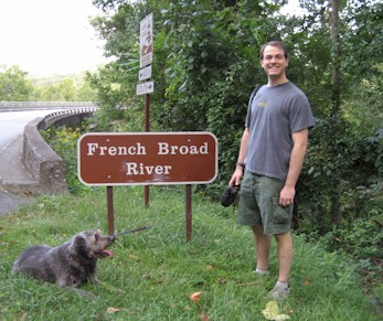 French Broad Sign