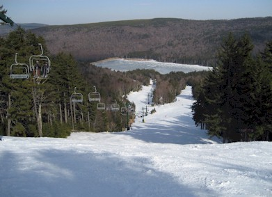 East side of Snowshoe