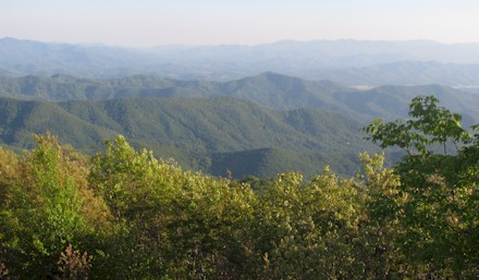View from Cowee Bald