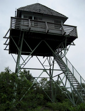 Green Knob Firetower