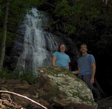 Us at Rufus Morgan Falls